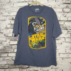 Star Wars Graphic Tee Shirt Darth Vader Trooper